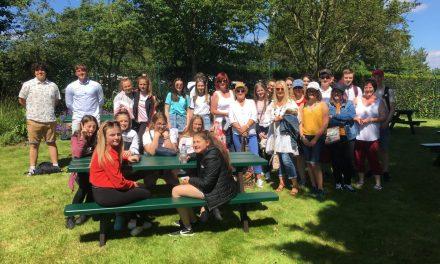 Larne GS's trip to Wimbledon