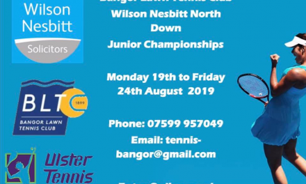 Wilson Nesbitt North Down Junior Championships