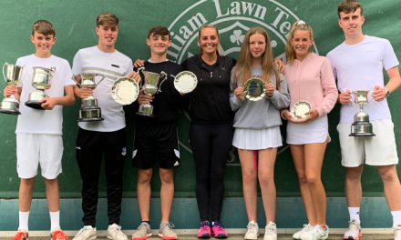 Ulster Players secure titles at the Irish Junior Championships 2019