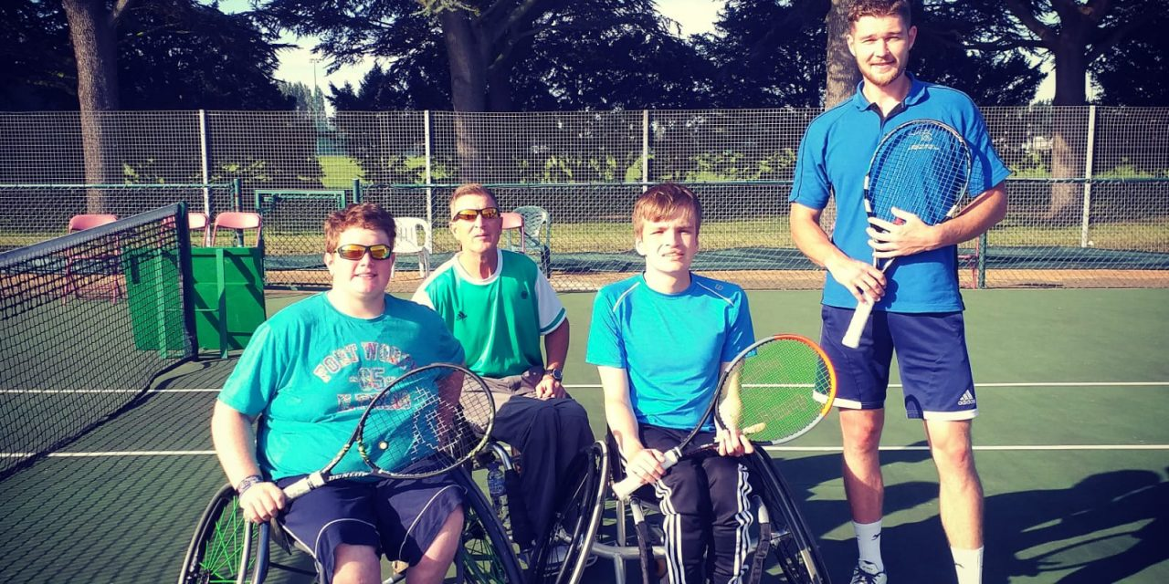 Dan Maskell Junior Wheelchair Tennis