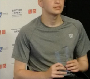 Ross Gourley wins British Open Junior Wheelchair Tennis 2019 singles title