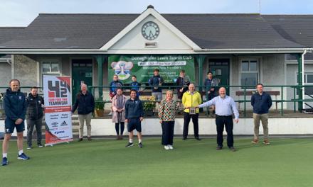 Donaghadee Tennis Club win Ulster Tennis Club of the Year Award 2019 2020